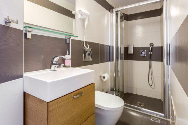 Δωμάτιο Νοσηλείας - Μπάνιο